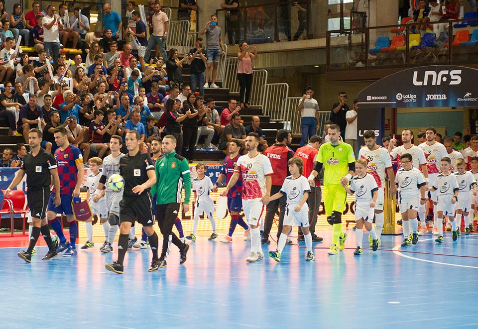 Águila F2 debútó con éxito en la Supercopa de España