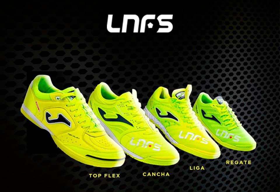 Joma lanza una edición especial para la LNFS de cuatro modelos de zapatillas