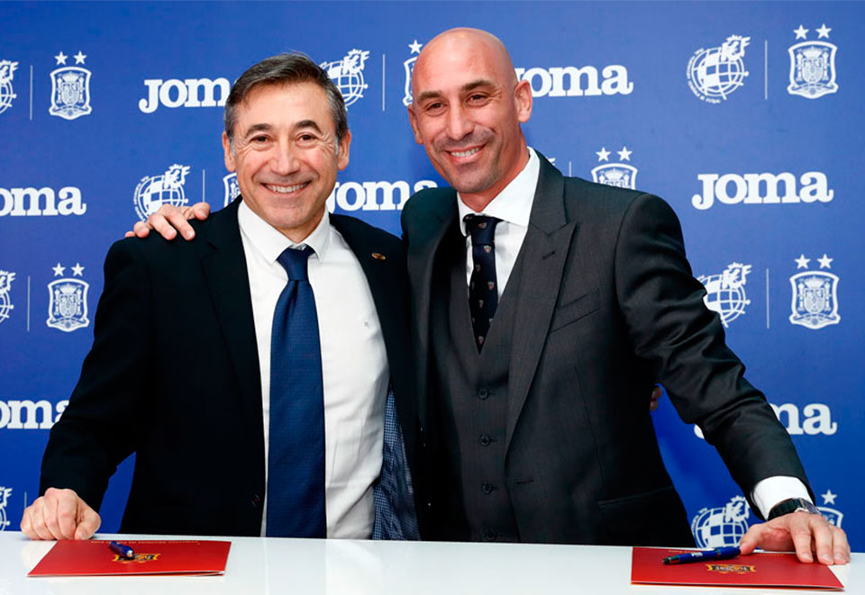 The Royal Spanish Football Federation (RFEF, in Spanish) and Joma Sport have agreed that the sports brand will be the official technical sponsor of futsal
