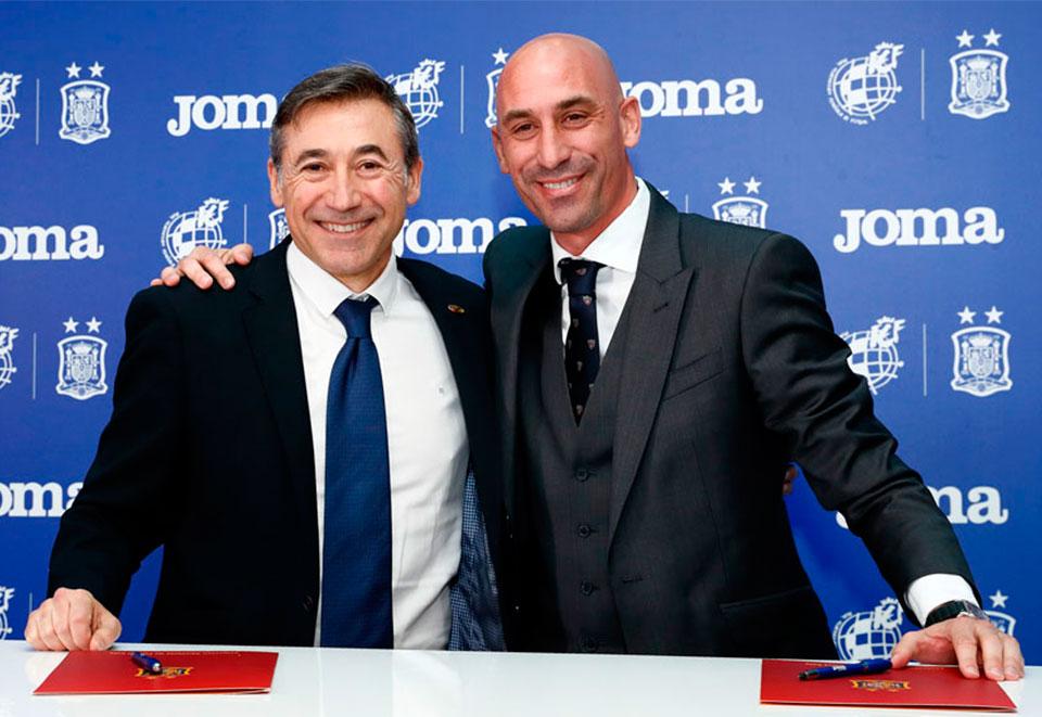 La RFEF y Joma Sport acuerdan que la marca deportiva sea el sponsor técnico oficial de fútbol sala