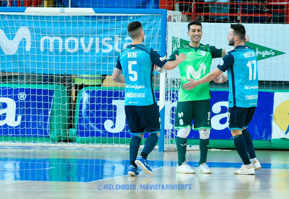 Movistar Inter FS finaliza la fase regular en primera posición