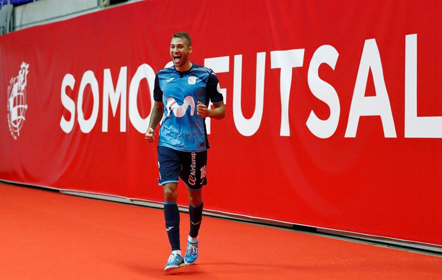 Movistar Inter vuelve a coronarse en su década prodigiosa (3-3)