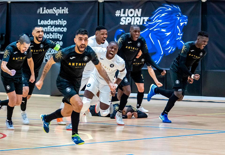 3 'JomaTeam' en octavos de final de la UEFA Futsal Champions League