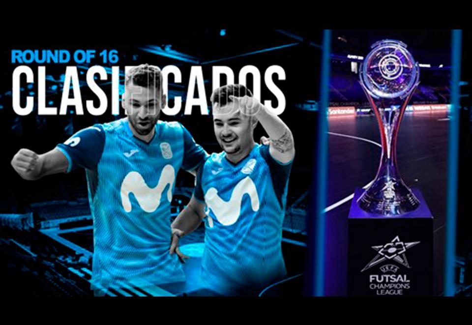 Movistar Inter FS se clasifica para la siguiente ronda de la UEFA Futsal Champions League